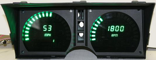 1978 82 Corvette Led Digital Gauge Panel