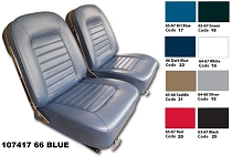 66 VINYL SEAT COVERS SET