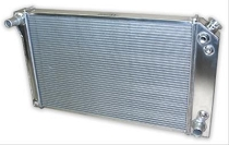 63-72 ALUMINUM RADIATOR - REPLACEMENT (FITS 63-67 ALL 327 & 68-72 4SP w/ O A/C)