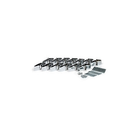 53-57 GRILLE TOOTH SET W/ MOUNT KIT (13 PIECES)