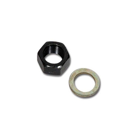 53-67 ALTERNATOR PULLEY NUT W/ WASHER