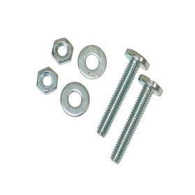 53-76 HOOD RUBBER BUMPER ADJUSTING BOLT (2 REQUIRED PER CAR)
