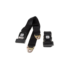 53-96 SEAT BELT SET - BLACK (UNIVERSAL REPRODUCTION)