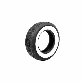 55-61 GOODRICH TIRE 6.70X15 - 2-1/2 (WHITE WALL)