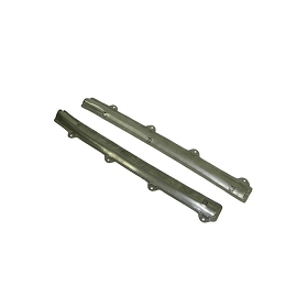 56-57 DOOR PANEL UPPER RAILS - UNCOVERED (PAIR)