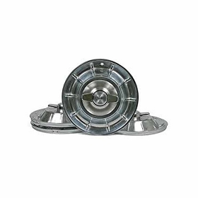 56-58 HUBCAPS W/ SPINNERS SET (U.S. MADE)