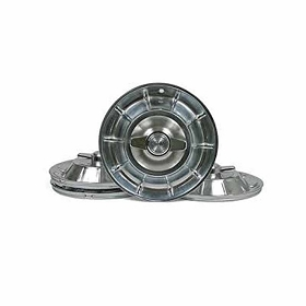 56-58 HUBCAPS W/ SPINNERS SET (IMPORT)