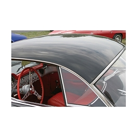 56-60 HARDTOP SIDE WINDOW (PLAIN) (PAIR)