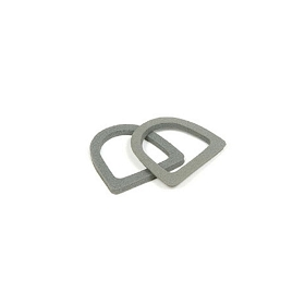 56-60 LICENSE LIGHT LENS GASKET (PAIR)