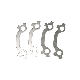 56-63 EXHAUST MANIFOLD LOCK SET (STAINLESS STEEL)
