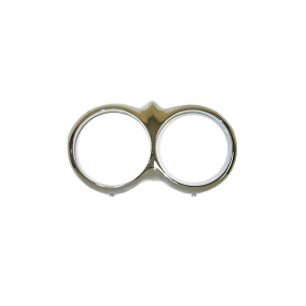 58-60 HEADLIGHT RING (CHROME) (PAIR)