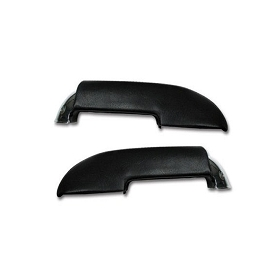59-61 COMPLETE ARM RESTS W/ CHROME ENDS (PAIR)