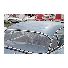 61-62 HARDTOP REAR WINDOW (PLAIN)
