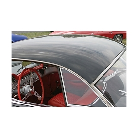 61-62 HARDTOP SIDE WINDOW (PLAIN) (PAIR)