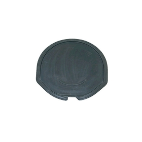 63-67 LOWER SPARE TIRE CARRIER TRAY (PRESS MOLDED)
