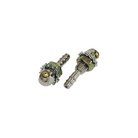 63-67 WASHER NOZZLES - CHROMED (PAIR)