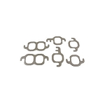 63-80 EXHAUST MANIFOLD GASKET SET (327/350 ENGINE)