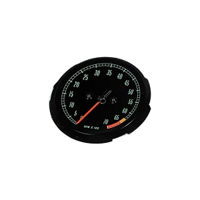 65-67 TACHOMETER FACE - HIGH HP 6500