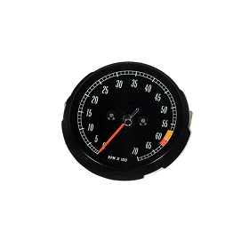 65-67 TACHOMETER FACE - MID HP 6000