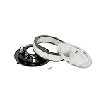 66-72 AIR CLEANER ASSEMBLY (OPEN TYPE) (66-67 427 1X4 & 70-72 LT-1)