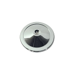 66-72 AIR CLEANER TOP (CHROME) (327/350/427)