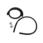 68-72 EXPANSION TANK HOSE & CLAMP SET