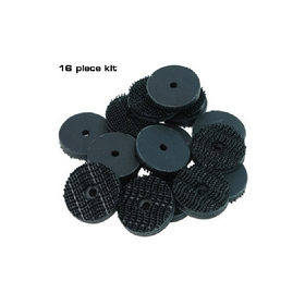 68-77 T-TOP PAD FASTENER KIT (16 PIECES)