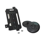 68 HEATER/AC CONTROL REFACE KIT w/ AC