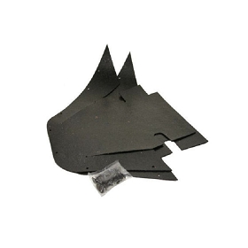 69-92 A-FRAME SEAL L.H. SKIRT DUST SHIELD