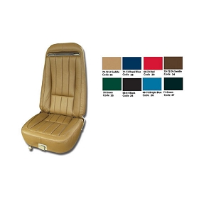 70-71 Leather Seat Cover Set - Reproduction