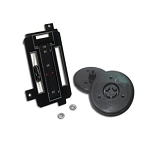 72-75 HEATER/AC CONTROL REFACE KIT w/ O AIR CONDITIONING