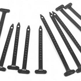 72 TIE STRAP KIT 10 PIECES