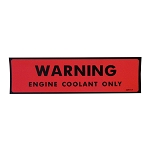74-78 COOLANT WARNING DECAL