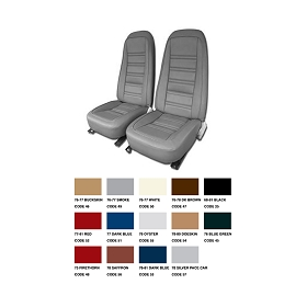 77-78 Vinyl Seat Covers Reproduction Set
