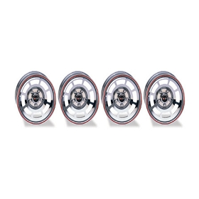78 ALUMINUM WHEELS PACE CAR - w/ O CAPS AND LUG NUTS (SET OF 4)