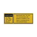 79-80 FAN CAUTION DECAL