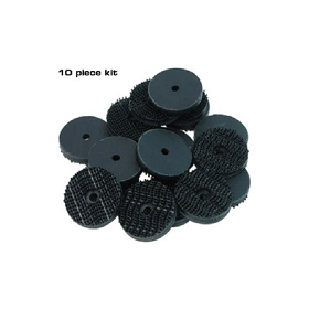 80-82 T-TOP PAD FASTENER KIT (10 PIECES)