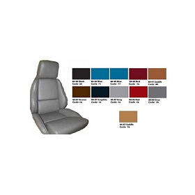 84-88 Standard Leather Seat Covers Set