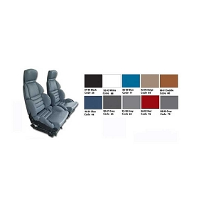 89-90 Sport Seat Leather Covers Set