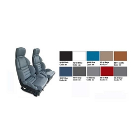 89-90 Sport Vinyl Seat Covers Set