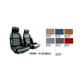 91-92 Sport Leather Seat Covers Set