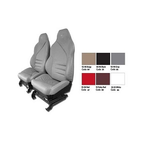 94-96 Sport Leather Seat Covers with Foam Installed