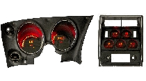 1968-77 Corvette LED Digital Gauge Panel