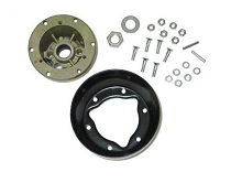 56-62 STEERING WHEEL HUB  W/ BELL & RIVETS