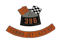65 AIR CLEANER DECALS - 396/425 (PAIR)