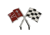 66 NOSE EMBLEM CROSSFLAGS