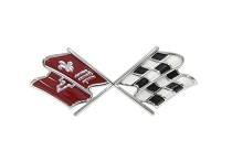 67 NOSE EMBLEM CROSSFLAGS