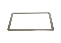 63-67 LICENSE PLATE FRAME (STAINLESS STEEL)