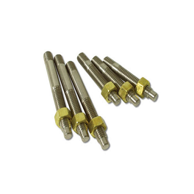 63-78 EXHAUST MANIFOLD STUDS W/ BRASS NUT (STAINLESS STEEL)