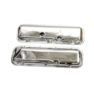 65-74 VALVE COVERS - 427 ENGINE (CHROME) IMPORTS